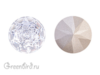 1400 Dome Round Stone 14 мм - Crystal (#001)