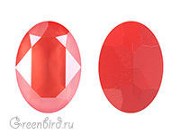 4120 Oval Fancy Stone 14х10 мм - Lacquer Light Coral (#001L116S)