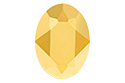 4120 Oval Fancy Stone 18х13 мм - Aurum (#001AUR)