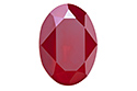 4120 Oval Fancy Stone 18х13 мм - Lacquer Royal Red (#001L107S)