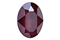 4120 Oval Fancy Stone 18х13 мм - Lacquer Dark Red (#001L108S)