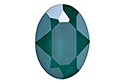 4120 Oval Fancy Stone 18х13 мм - Lacquer Royal Green (#001L109S)