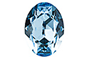 4120 Oval Fancy Stone 18х13 мм - Aquamarine (#202)