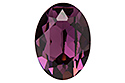 4120 Oval Fancy Stone 18х13 мм - Amethyst (#204)