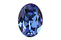 4120 Oval Fancy Stone 18х13 мм - Sapphire (#206)