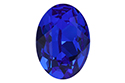 4120 Oval Fancy Stone 18х13 мм - Majestic Blue (#296)