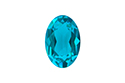 4120 Oval Fancy Stone 6х4 мм - Blue Zircon (#229UNFOILED)
