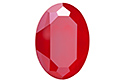 4127 Oval Fancy Stone 30х22 мм - Lacquer Royal Red (#001L107S)