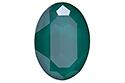 4127 Oval Fancy Stone 30х22 мм - Lacquer Royal Green (#001L109S)