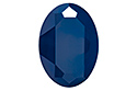 4127 Oval Fancy Stone 30х22 мм - Lacquer Royal Blue (#001L110S)