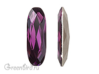 4161 Long Classical Oval 15x5 мм - Amethyst (#204)