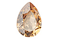 4320 Pear Rhinestone 14х10 мм - Golden Shadow (#001GSHA)