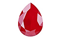 4320 Pear Rhinestone 14х10 мм - Lacquer Royal Red (#001L107S)