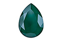 4320 Pear Rhinestone 14х10 мм - Lacquer Royal Green (#001L109S)
