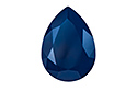 4320 Pear Rhinestone 14х10 мм - Lacquer Royal Blue (#001L110S)