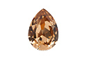 4320 Pear Rhinestone 8х6 мм - Light Colorado Topaz (#246)