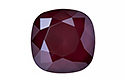 4470 Cushion Square 12 мм - Lacquer Dark Red (#001L108S)