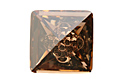 4481 Vision Square Fancy Stone 12 мм - Golden Shadow (#001GSHA)