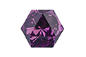 4699 Kaleidoscope Hexagon 14x16 мм - Amethyst (#204)