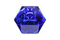 4699 Kaleidoscope Hexagon 14x16 мм - Majestic Blue (#296)