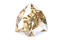 4706 Trilliant Fancy Stone 17 мм - Golden Shadow (#001GSHA)