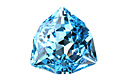 4706 Trilliant Fancy Stone 17 мм - Aquamarine (#202)