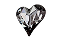 4809 Sweet Heart 17x15,5 мм - Silver Night (#001SINI)