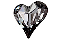 4809 Sweet Heart 27x25 мм - Silver Night (#001SINI)