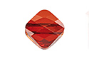 5054 Бусина Mini Rhombus Bead 6mm - Red Magma (#001REDM)