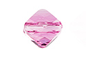 5054 Бусина Mini Rhombus Bead 6mm - Rose (#209)
