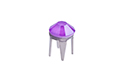 53301 Заклепка Rose Pins SS10 (2.8мм) - Crystal Electric Violet (#001L148S)
