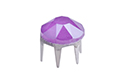 53303 Заклепка Rose Pins SS20 (4.7мм) - Crystal Electric Violet (#001L148S)
