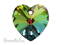 6228 подвеска Heart 14mm - Vitrail Medium (#001 VM)