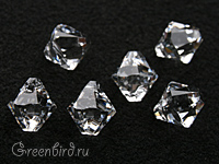 6328 подвеска Xilion Bicone 6mm - Crystal (#001)