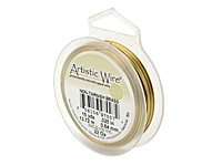 Проволока Artistic Wire 24 Ga Non-Tarnish Brass (AWS-24-NTB-20YD)