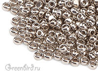 Preciosa Charlotte Cut 13/0, Nickel Plated (#13-NI)