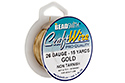 Проволока Craft Wire 26 Ga Gold (CW26R-GL-15)
