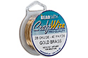 Проволока Craft Wire 28 Ga Gold Brass (CW28R-BGB-40)