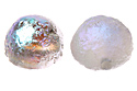 Dome Beads 12x7mm, Crystal/Etched Silver Rainbow Full, 1 шт. (#00030/98580)