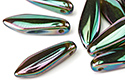 Glass Daggers 5x16mm, Emerald Full Apricot Medium, 1 шт. (#50720/29123)