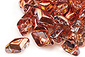 GemDuo 8x5mm - Crystal/Sunset, 5 гр (#00030/27137)