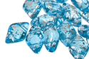 GemDuo 8x5mm - Silver Splash Aqua, 5 гр (#60020/15481)