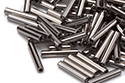 Bugle Beads 12mm, Full Chrome (#27400)