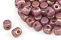 Minos® par Puca® 2,5x3 мм, Opaque Mix Violet/Gold Luster, 5 гр (#03000/14496)