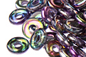 O bead 1x4mm, Crystal/Magic Purple, 5 гр. (#00030/95500)
