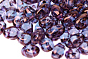 MiniDuo 2,5x4, Luster Transparent Amethyst, 5 гр (#LE00030)