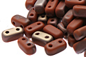 Bricks 3x6mm, Mat. Apollo Umber (#MC13610)