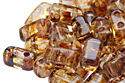 Bricks 3x6mm, Crystal/Picasso (#T00030)