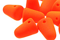 Gum Drops 7,5x10mm, Neon Orange (#25122AL)