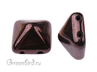Pyramid 12mm, Metallic Amethyst, 1 шт. (#LE23980)